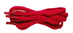 Red shoelace