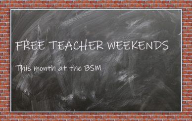 Free Teacher Weekends in May