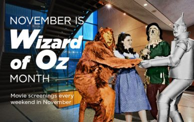 November is Wizard of Oz Month!