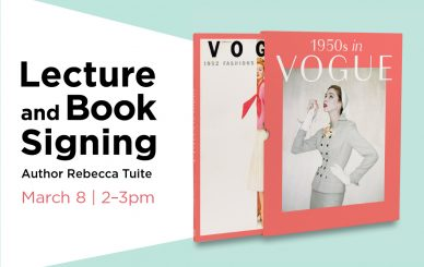 Lecture and Book Signing