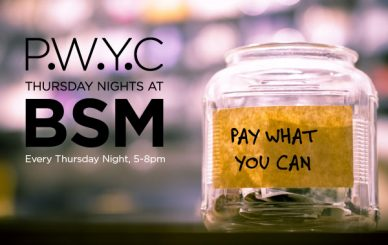 Pay What You Can Thursdays