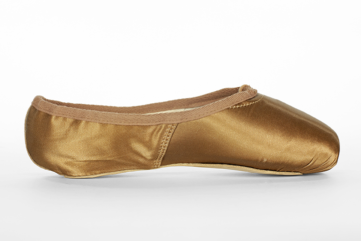 Medium Skin Tone ballet slipper