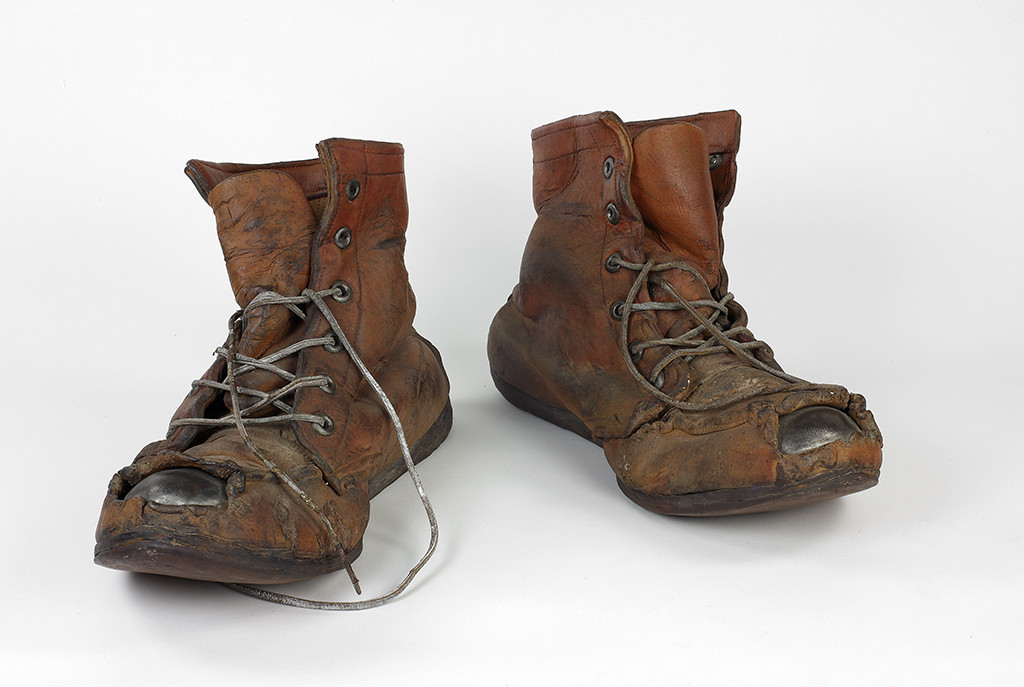 Steel Toe Boots #2 by Marilyn Levine