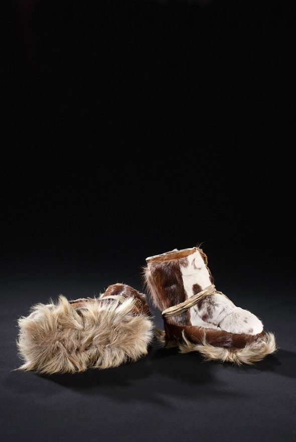 Siberian Fur-Soled Shoe