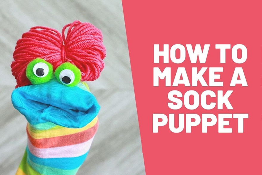 How to make a sockpuppet