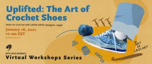 Uplifted: The art of crochet shoes