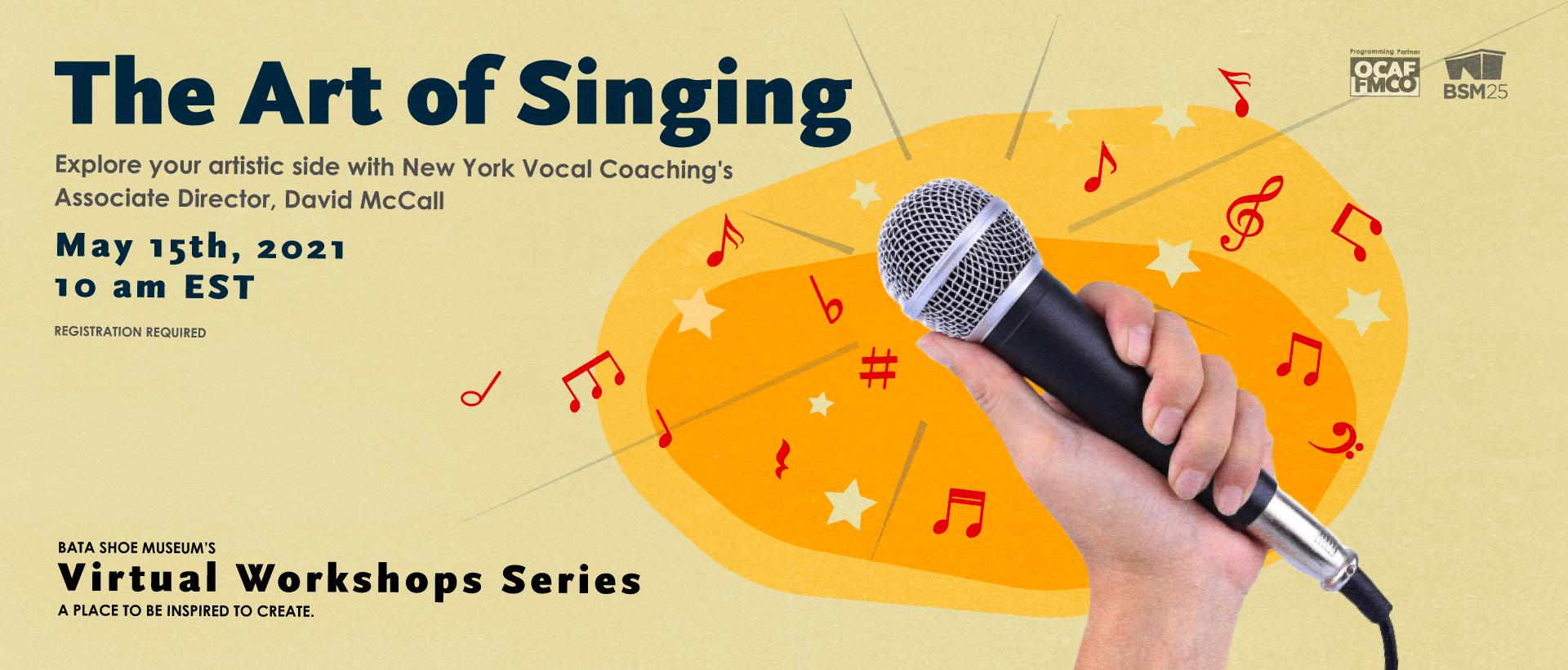 The art of singing workshop